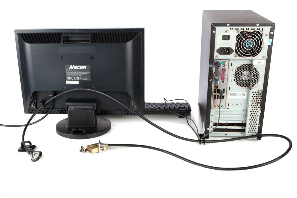 PC and Monitor security (option 2) - Heavy-Duty img 5