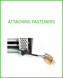 attaching fasteners